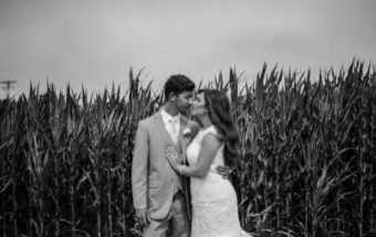 chris + abigail // lavender farm wedding